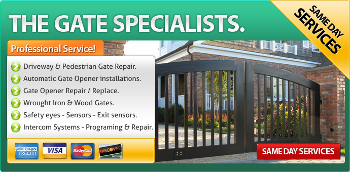 Gate repair Chula Vista CA